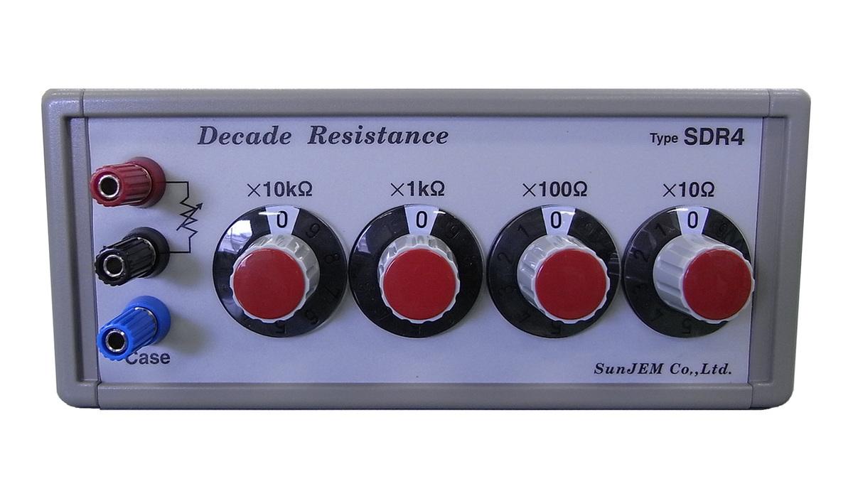 Model SDR4-A/SDR4-B Decade Resistor