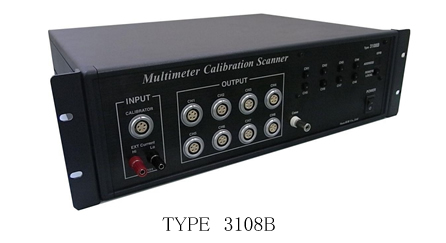 Model 3108B Scanner for Multi-Meter Calibration