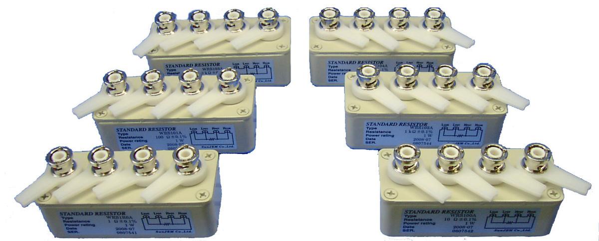4端子標準抵抗器WRSシリーズ