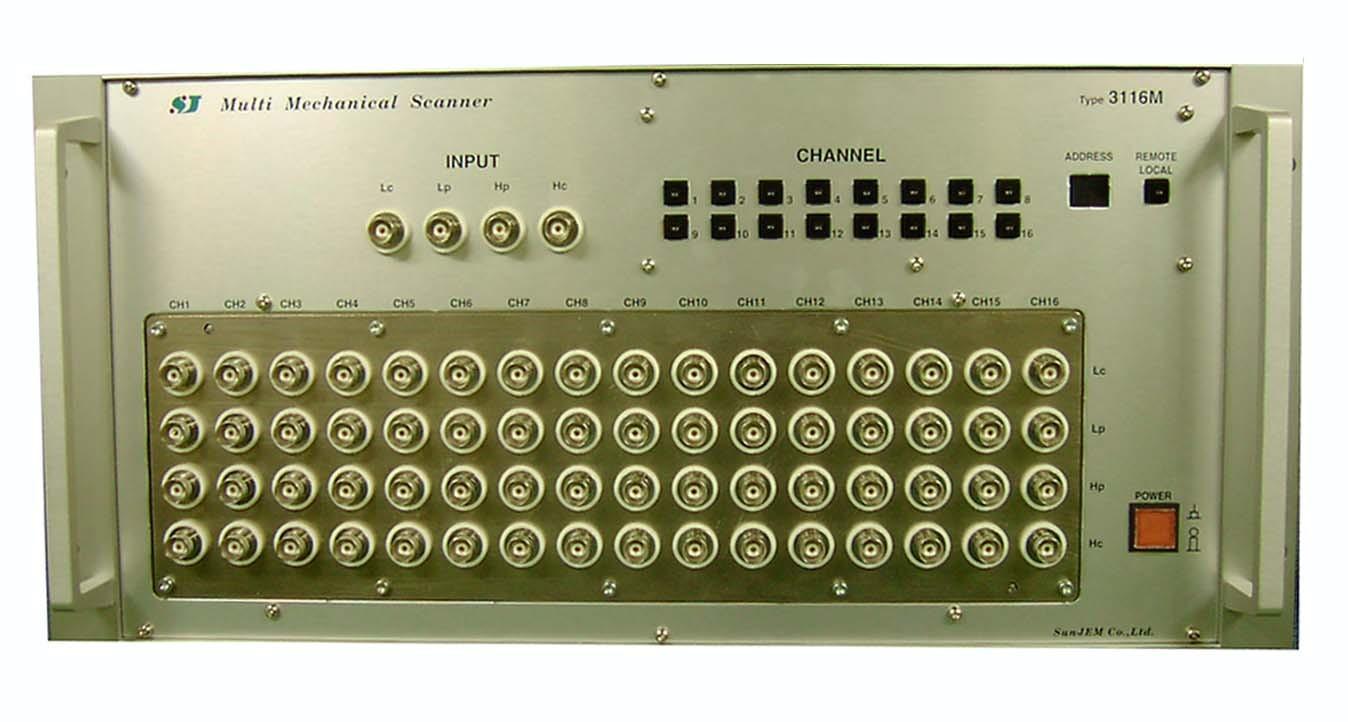 マルチ・メカニカルスキャナ 3116M(4線16回路BNCタイプ)