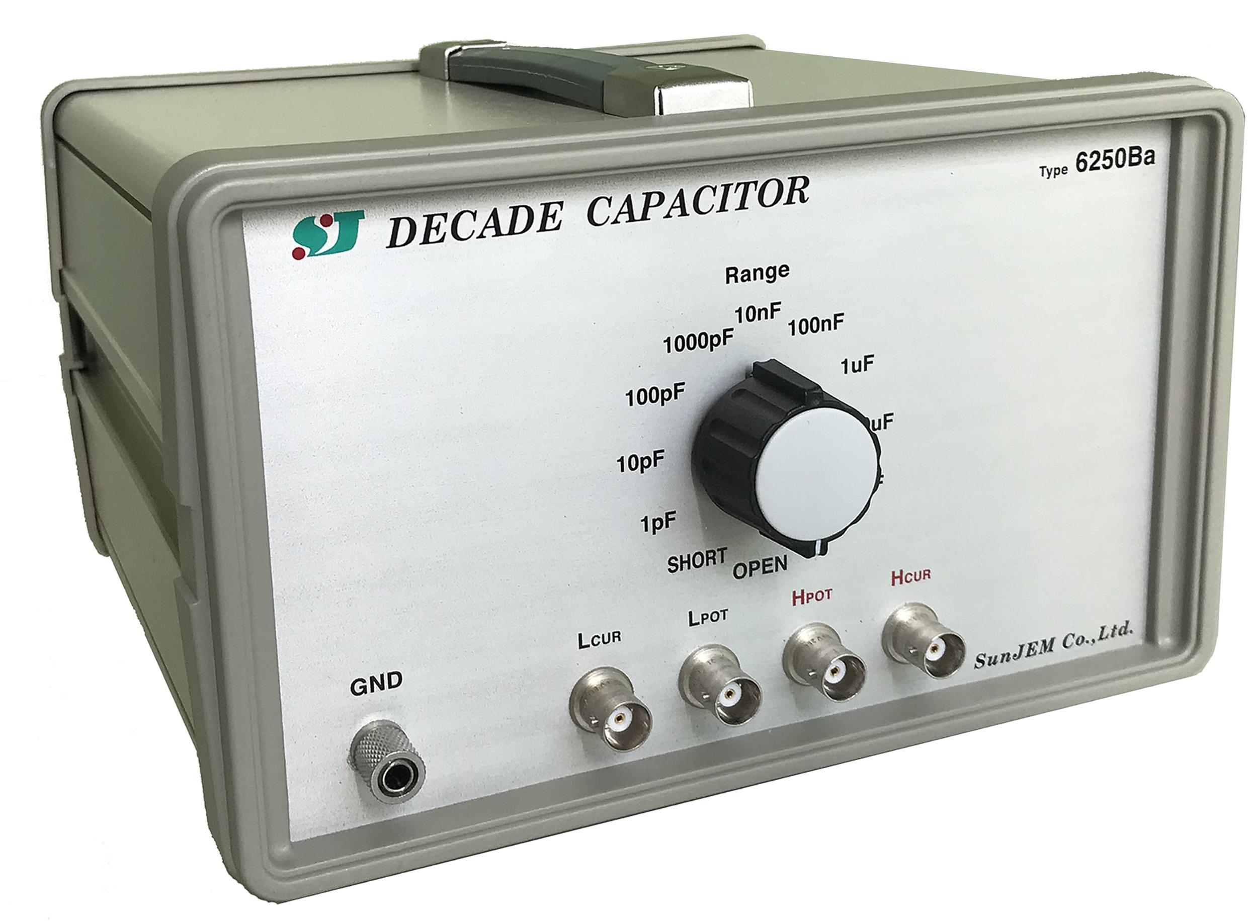 Decade Capacitor TYPE 6250B Series