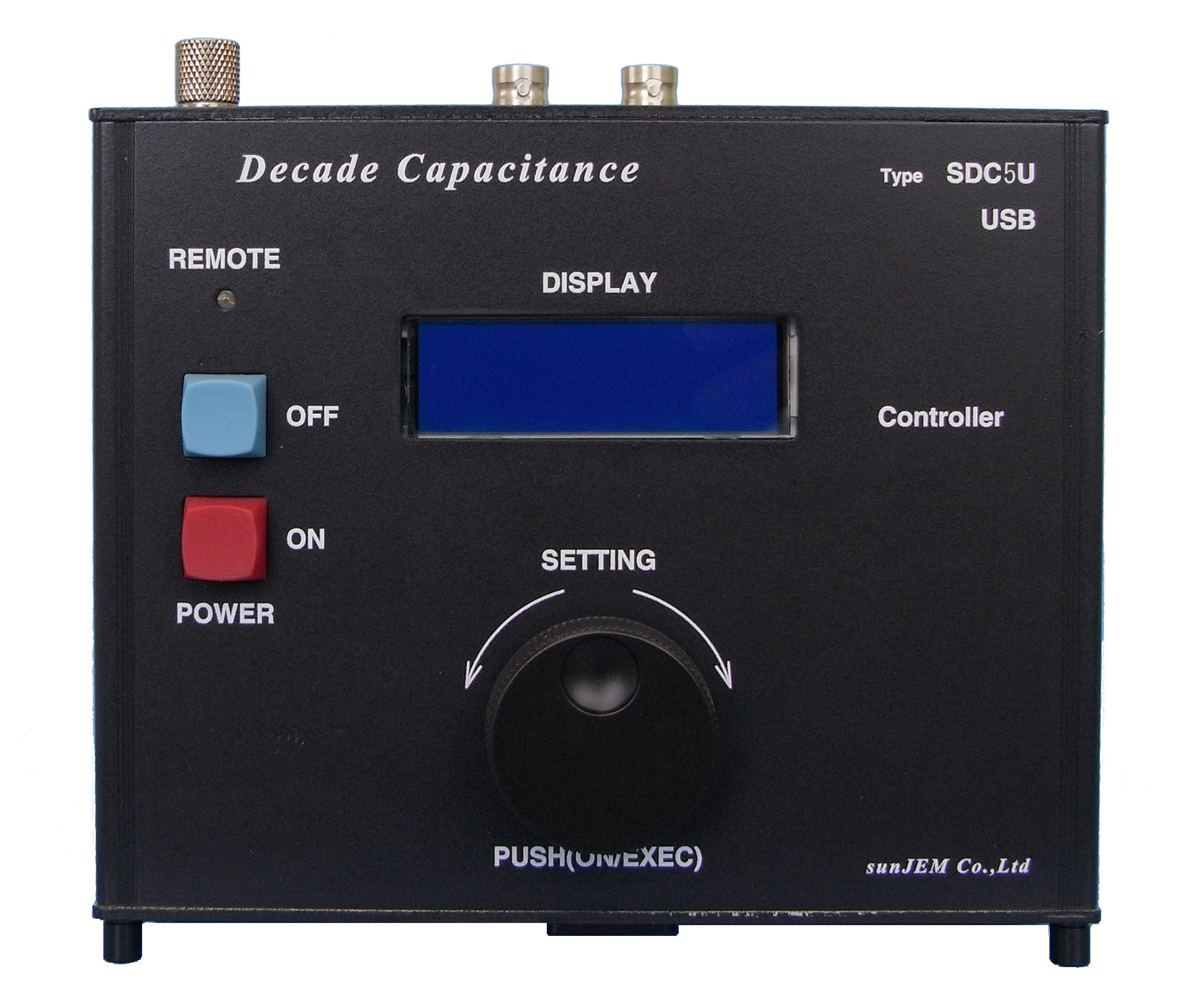 Variable Capacitance with USB TYPE SDC5U/8020A Series